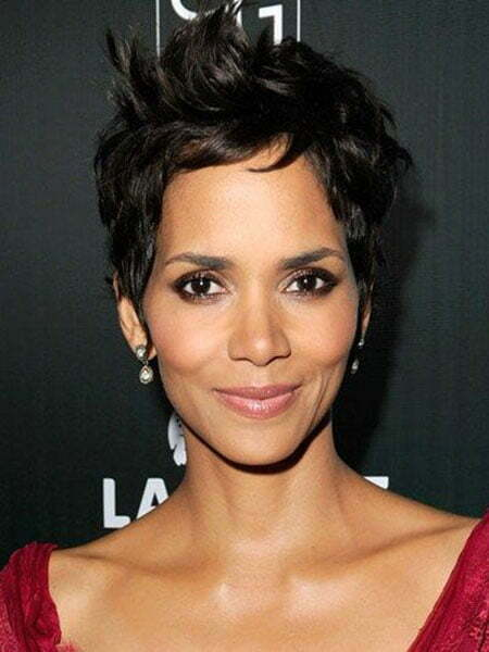 Halle Berry Pixie Hairstyle