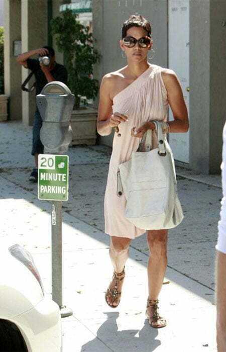 Halle Berry Super Short Hairstyle