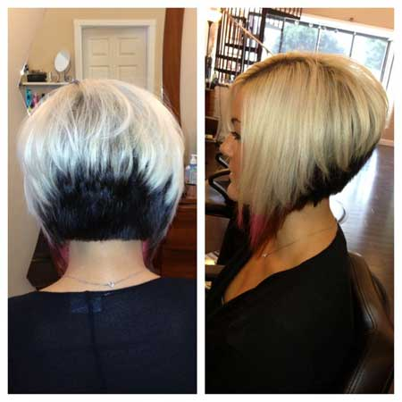 Brilliant Inverted Bob Haircuts 2013 2014 Short Hairstyles 2016 2017 Hairstyle Inspiration Daily Dogsangcom