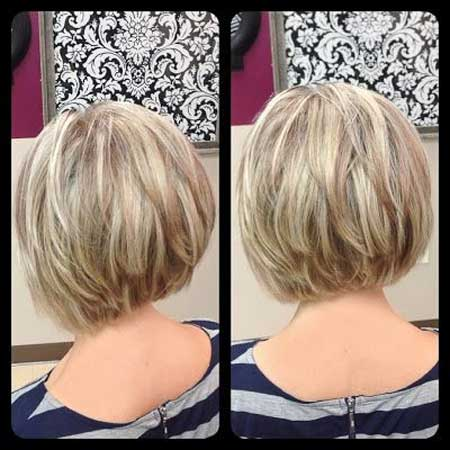 Inverted Bob Haircuts 2013 2014 Short Hairstyles 2018 2019