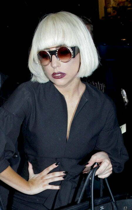 Lady Gaga Bob Hairstyle