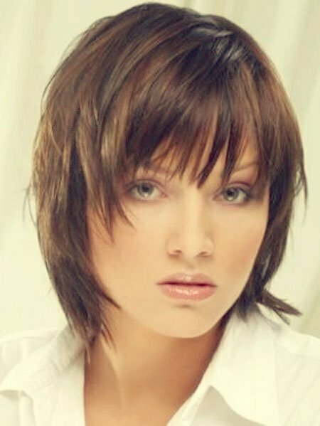 Layered Short Straight Haircut