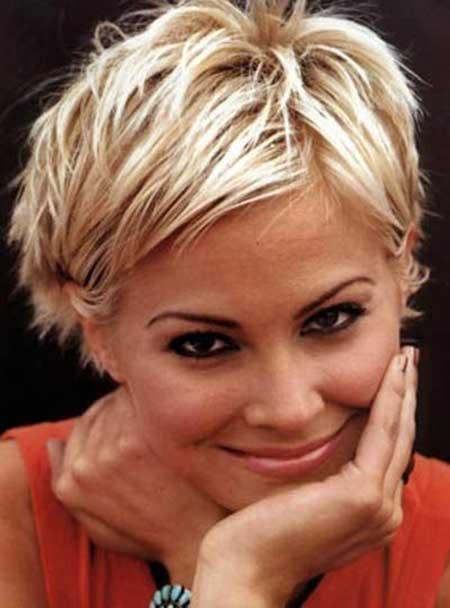 Pleasing New Short Blonde Hairstyles 2014 Short Hairstyles 2016 2017 Hairstyles For Women Draintrainus