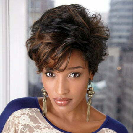 New Short Hair Styles for Black Women