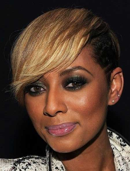 New Short Hairstyles for Black Women_17
