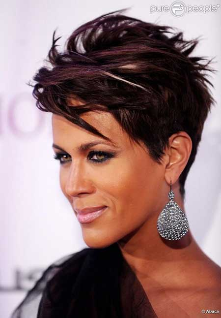 New Short Hairstyles for Black Women_20
