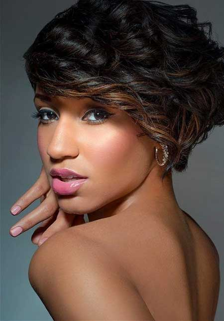 New Short Hairstyles for Black Women_4