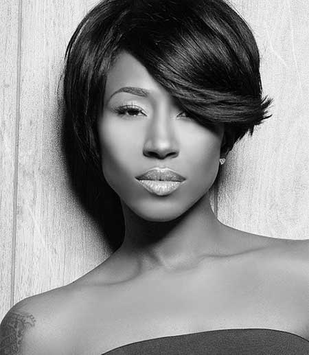 New Short Hairstyles for Black Women_9