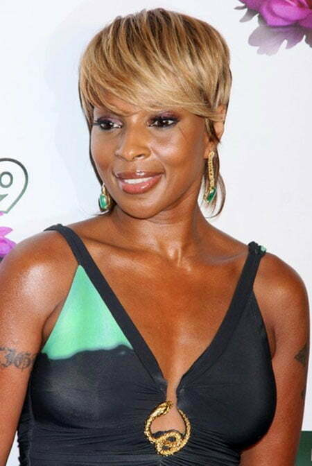 Nice Short Hairstyles for Black Women_1
