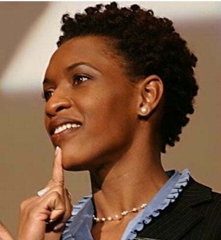 Nice Short Hairstyles for Black Women_19