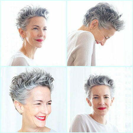 Photos Of Short Haircuts for Older Women_10