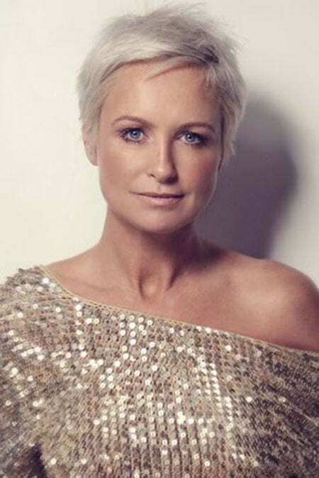 Photos of short haircuts for older women short hairstyles 2017 very short grey layered haircut winobraniefo Image collections