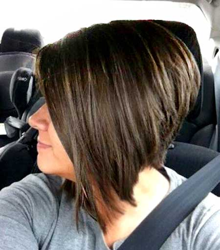 Straight, Blunt and Asymmetrical Bouncy Bob Hairstyle