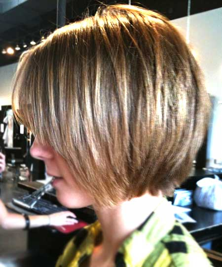 Shaggy Bob Hairdo for Girls