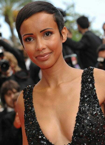 Pictures Of Short Haircuts for Black Women_12