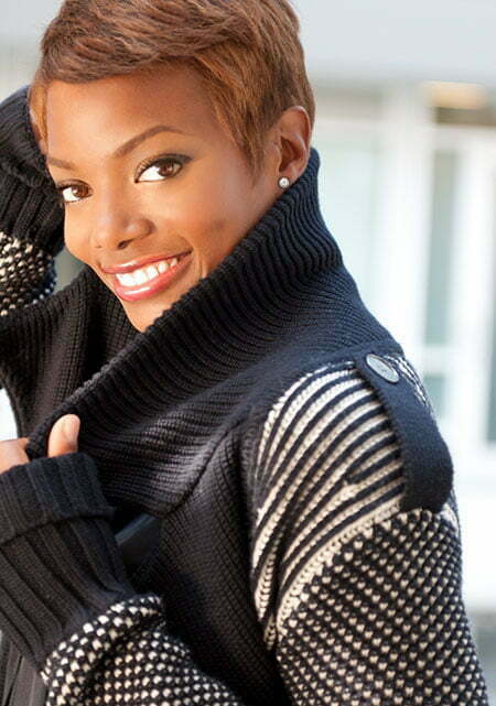 Pictures Of Short Haircuts for Black Women_15