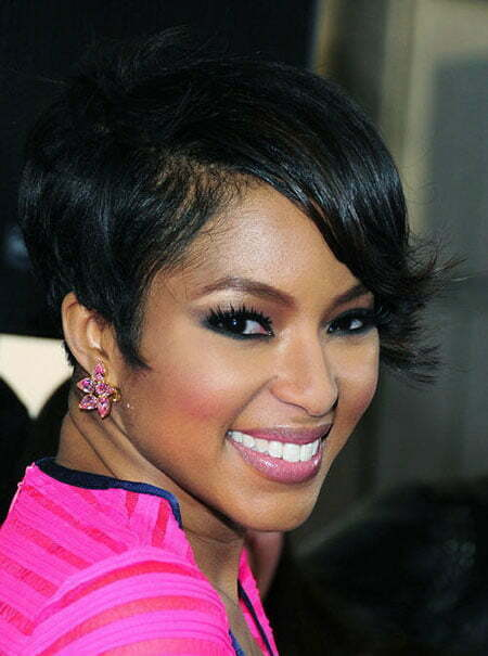 Pictures Of Short Haircuts For Black Women Short