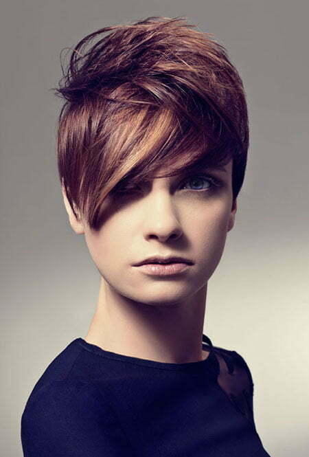 Cut And Color : Pixie Cut and Color