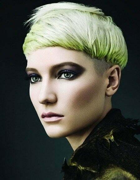 Lovely Light Green Hair
