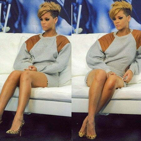 Rihanna Short New Haircut
