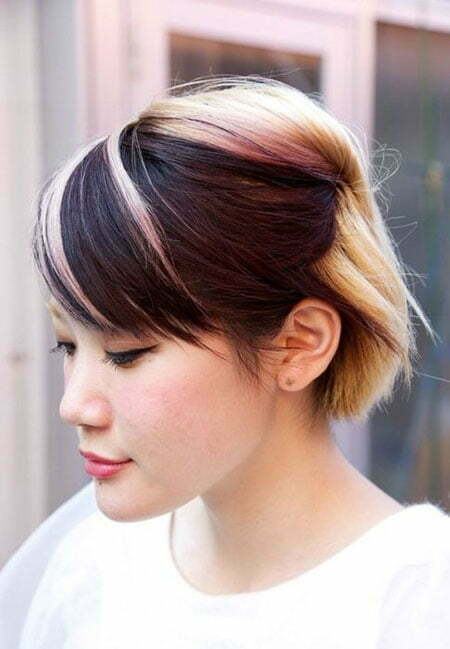 20 Color Ideas For Short Hair
