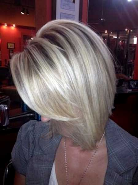 Blonde Colored Long Layered Haircut for Girls