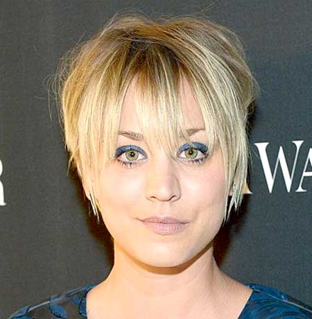 Short Messy Layered Blonde Haircut