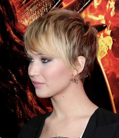 Short Blonde Pixie Haircut 2015