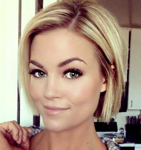 2015 Short Blonde Bob Hairstyles