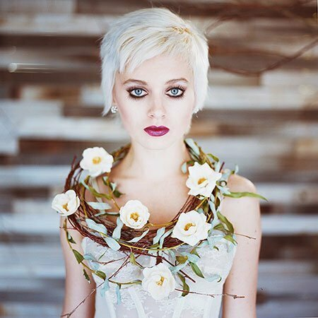 Wedding Styles For Short Hair Short Hairstyles 2018 2019 Most