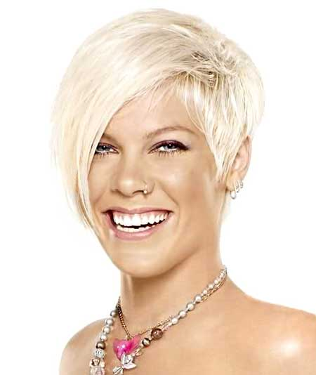 Short Celebrity Hairstyles 2014