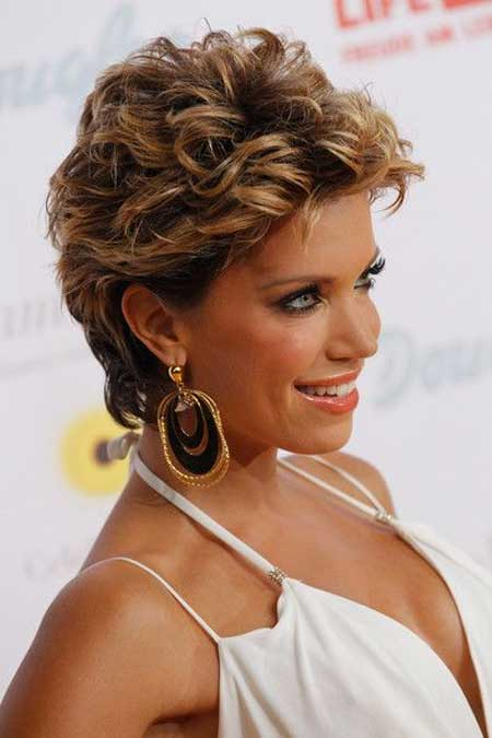 Short Curly Hairstyles for 2014_19