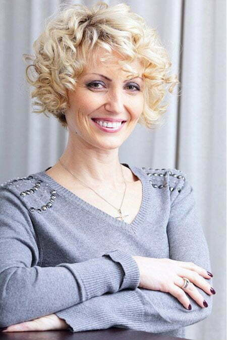 Excellent Cute Short Curly Hair Short Hairstyles 2016 2017 Most Hairstyles For Women Draintrainus