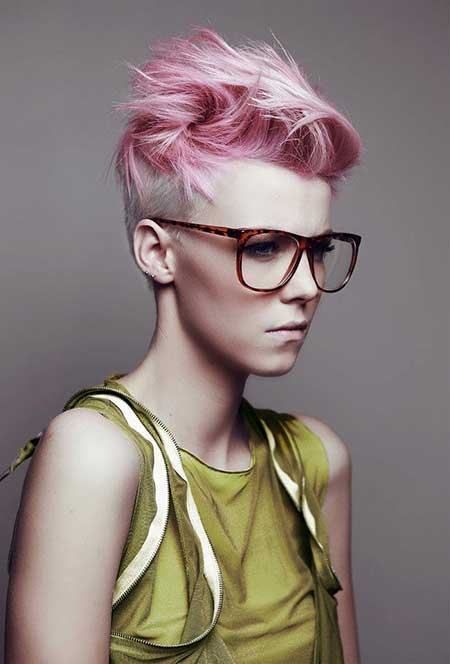 Short Hair Color Trends_24