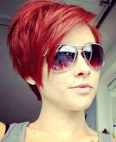Red Hair Color Idea for Women