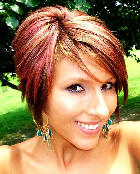 Red Hair Color Idea for Girls