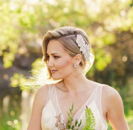 Remarkable Short Hair Wedding Styles Short Hairstyles 2016 2017 Most Short Hairstyles Gunalazisus