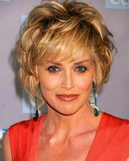 Cool 35 Short Hair For Older Women Short Hairstyles 2016 2017 Hairstyles For Men Maxibearus