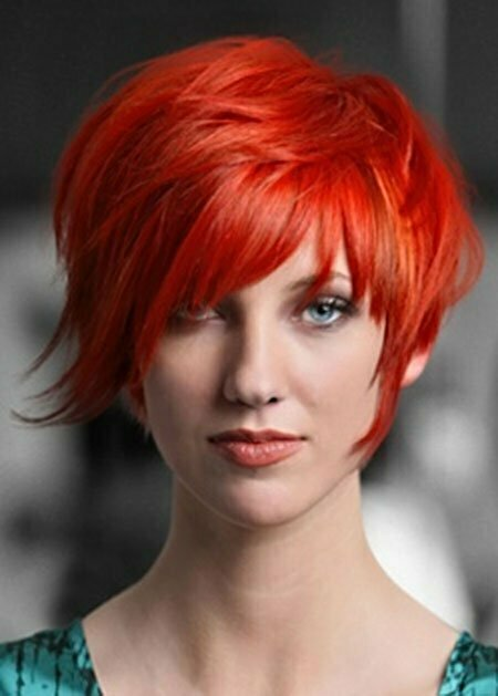 Short Haircuts and Color Ideas_2