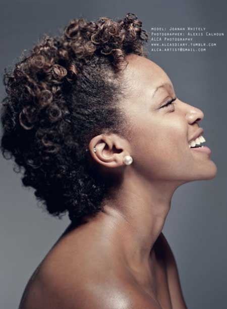 Incredible Short Curly Hair With Shaved Sides Short Hair Fashions Short Hairstyles For Black Women Fulllsitofus