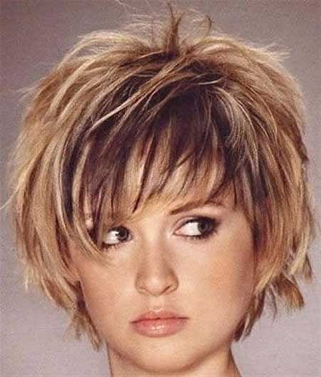 30 Best Short Hairstyles for Round Faces | Short Hairstyles 2015