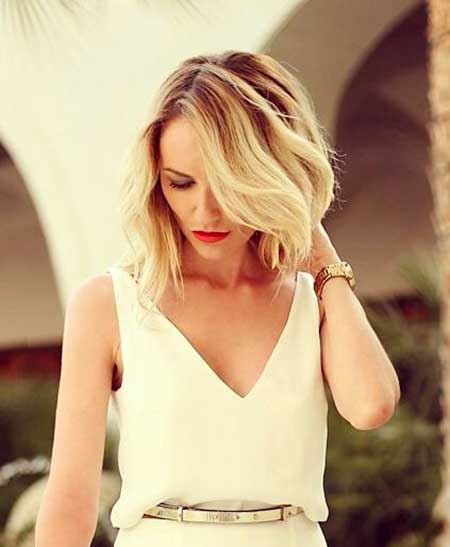 Short Haircuts for Wavy Hair 2014 - 2015_8