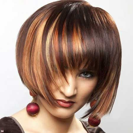 Strange 30 Short Haircuts With Color Short Hairstyles 2016 2017 Most Hairstyles For Women Draintrainus