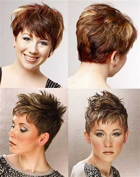 Short Haircuts with Color_13