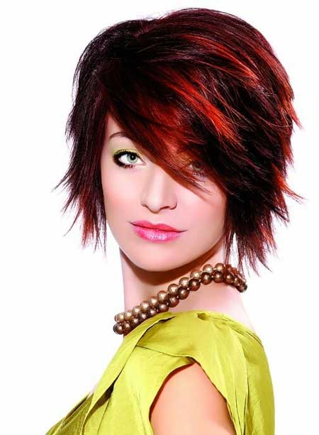 Short Haircuts with Color_8