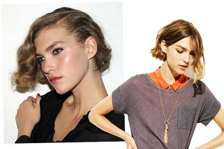 The Wavy Asymmetrical Hairstyle Trend for 2015