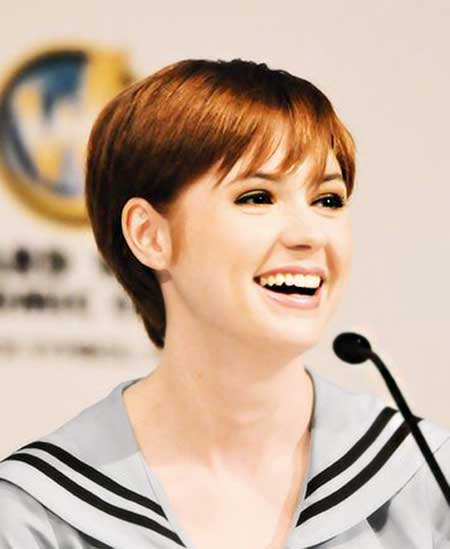 Beautiful Short Celebrity Hairstyles 2015