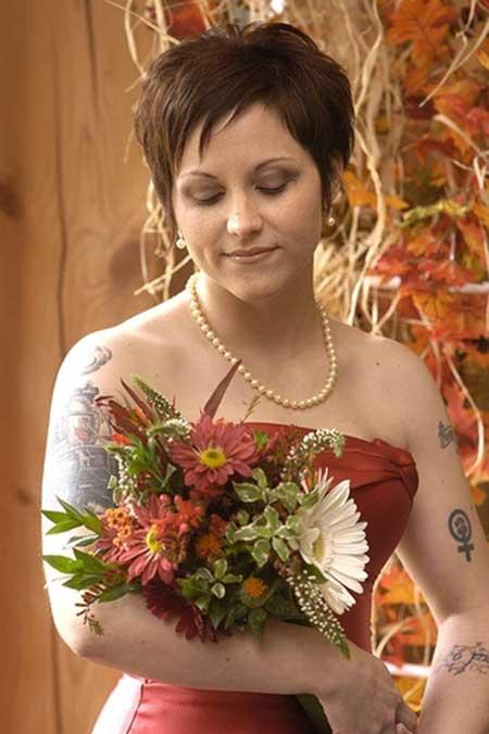 Short Hairstyles Wedding