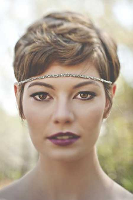 Short Hairstyles for A Wedding