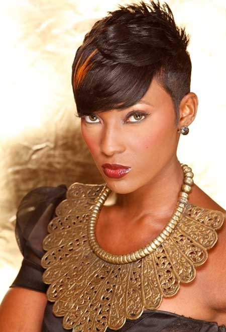 Excellent Short Hairstyles For Black Women 2013 2014 Short Hairstyles Hairstyles For Women Draintrainus